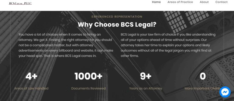 affordable law firm websites
